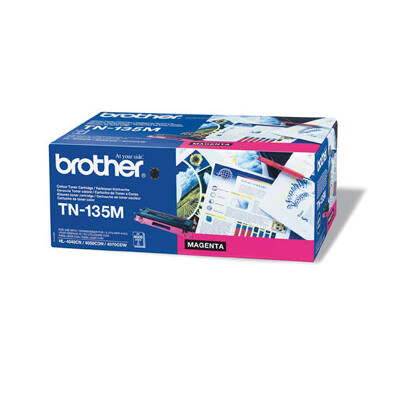Brother TN-135 magenta eredeti toner