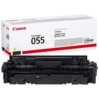 Canon CRG-055 sárga eredeti toner