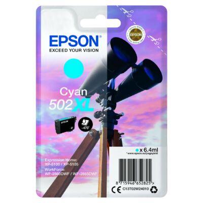 Epson T02W2 cyan eredeti tintapatron