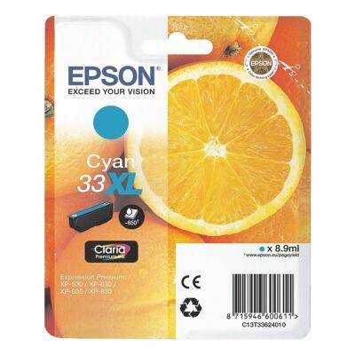 Epson T3362 cyan eredeti tintapatron