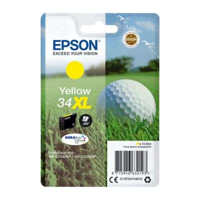 Epson T3474 sárga eredeti tintapatron