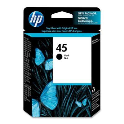 HP 51645A No.45 fekete eredeti tintapatron