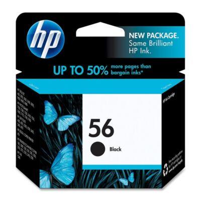 HP C6656A No.56 fekete eredeti tintapatron