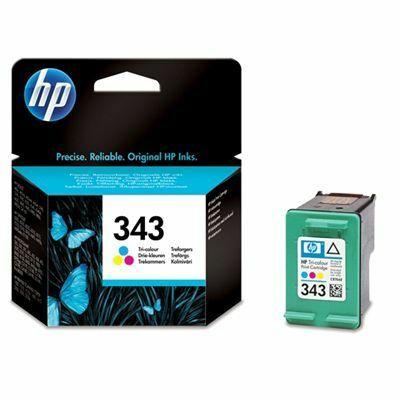 HP C8766EE No.343 színes eredeti tintapatron