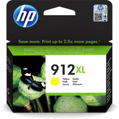HP 3YL83AE No.912XL sárga eredeti tintapatron