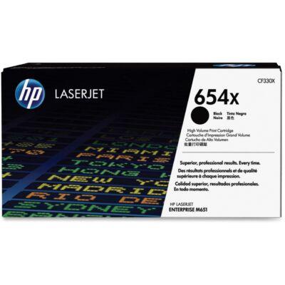 HP CF330X No.654X fekete eredeti toner