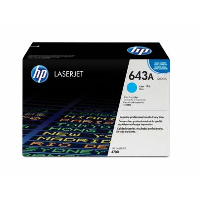 HP Q5951A cyan eredeti toner